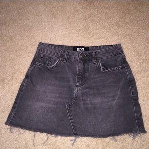 BDG Black Denim Skirt